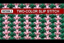 vzoreček pletení..video