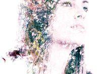 art / double exposure, photo manipulation