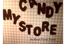 My miniature candystore / #miniature #dollshouse #candy #store #handmade #candy #whitoutmolds