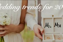 Wedding trends for 2015 / Wedding trends for 2015