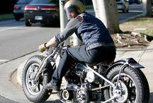 Brad Pitt and motorcycles