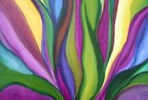 Georgia O'Keeffe            (American) / I love this artist! I feel a sympatico with her paintings...resonance.