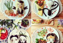 Comidinhas divertidas  | Fun Foods / Fotos reprodução: Samantha Lee http://migre.me/e1XjT