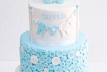 Button Design cakes
