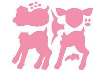 faon - Deer  COL1401   marianne design / faon - Deer  COL1401   marianne design