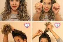 ai, meus cabelos! / Inspiração para o cabelo  / by Aline Corrêa