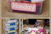 Homeschool Busy Boxes / by Alison Mignery