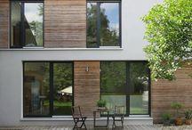 Tilbygg, veranda og hage