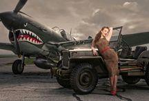 Plane photo shoot ideas