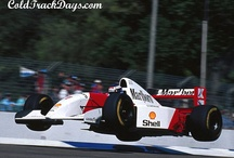 Vintage F1 / Formule 1 cars from the 50's to 90's.