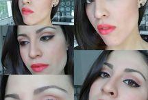 make-up / Maquillajes realizados por mí y cambios de look
