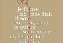 { in love }