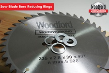 Saw Blade Bore Bushes / Will fit All Makes of saw blades. / by Woodford Woodworking Tools and Machines UK.