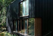 Fekete házak