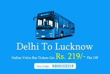 Delhi To Lucknow Volvo Bus Tickets