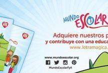 Mundo Escolar / Información, actividades y recursos publicados en Mundo Escolar