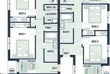 dual occupancy & townhouse plans