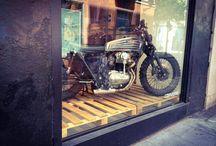 Cafe Racer \ Brat \ Scrambler / Old School bikes