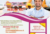Green World Group - Vizag / Green World Group offers for Nebosh IGC course in Vizag with special offer including 3 UK certification free. For more details: +91 7639359359. http://www.greenwgroup.com/training-courses/nebosh