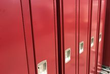Keewaydin School/Minneapolis, MN #DeBourgh #Lockers / #Keewaydin #MaroonPeaks #SentryThreeLatch #SolidVentilation #PianoHinge #SlopeTop #Lockers #DeBourgh