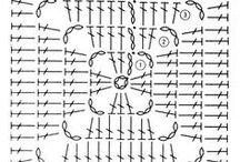 かぎ針編み 編み図