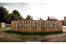 STIK in Laznia / Street artist STIK in Laznia in Gdansk