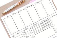 planningen maken + de juiste hulpmiddelen