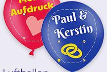 Individuell bedruckte Ballons / Gestaltet Euer eigenes Ballondesign! Egal ob Comic-Stil, Logo, Fotodruck... mit unserem Ballondesigner könnt Ihr ganz kreativ werden. Bedruckte Ballons sind toll für private Anlässe, aber auch als #Werbung für einen Laden oder für ein Firmenevent.