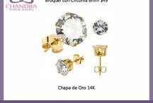 Chapa de Oro / Solo para ti ¡la joyería armada más linda y los componentes de la mejor calidad!