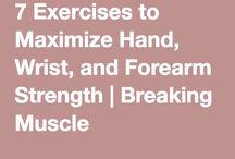 hand wrist forearm strength