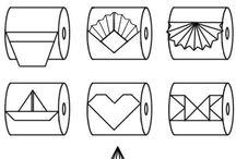 Decoracion rollo papel
