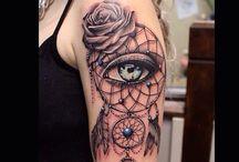 A art em forma de tatoo