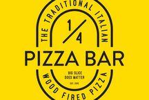 1/4 Pizza Bar / Jl. Haji Hasan 19 #Bandung  ig I twitter : @quarterpizzabar  #WoodFiredPizza #PizzaSeperempat #HomeMadePizza