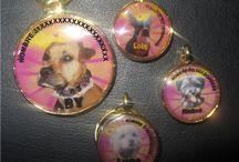 Placas de identificacón mascotas / Identificalo con estilo más que una placa toda una joya #joyeria  #petlovers #dogs #cats #perros #gatos