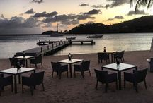 The Jetty Grill / Beach-side dining, adults only, grilled mat and fish washed down with crisp wine- the Jetty Grill is a very special place. It is certainly casual dining at its best #beach #dining #antigua