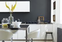 Inspiring Kitchens / Often described as the heart of the home, use colour to enhance your kitchen and create a room that is both practical and beautiful.