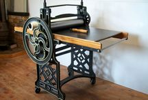 Art School Waihi / Classic Etching Presses / Etching Presses and Murals and Classes