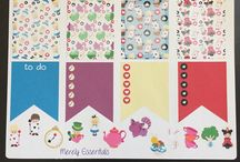 Merely Essentials / Planner stickers and DIY labels
