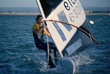 Old Windsurfing Photos / Steve and Mandy Freestyle