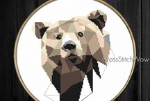 Animal cross stitch