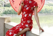 Tangzhuang&Cheongsam / Chinese traditional culture clothing / by Eve Hilda