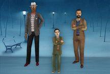 Sims 2- Edwardian/20th Century / Edwardian and 20th century, 1900-1940s