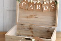 Wedding Card Boxes / Our favorite wedding card boxes and display ideas