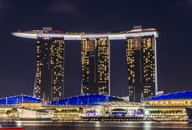 Marina Bay Sands Hotel, Singapore / A variety of Photos of the Marina Bay Sands Hotel