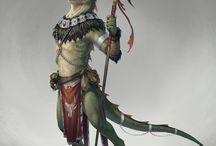 Reptilian warfare