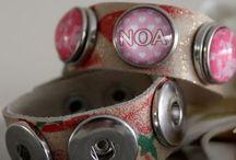 Armbanden voor Clicks en handgemaakte Drukkers / Armbanden in verschillende maten en kleuren