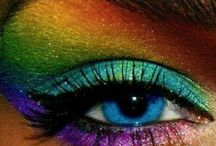 Rainbow makeup inspiration