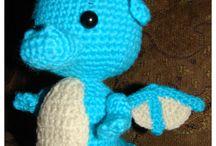 Free Dragon & Dinosaur Crochet Patterns / by Sharon Ojala