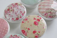 Special detailed things!! / Shabby chic vintage coutry British style