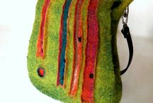 Felted purses
